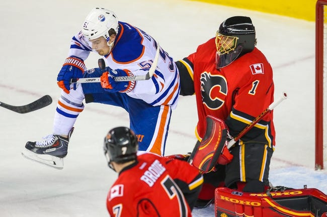 Edmonton Oilers vs. Calgary Flames - 4/4/15 NHL Pick, Odds, and Prediction