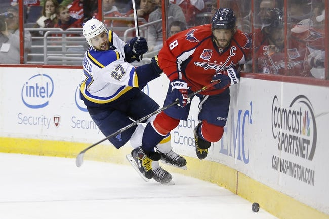 Washington Capitals vs. St. Louis Blues - 3/26/16 NHL Pick, Odds, and Prediction