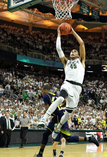 Illinois Fighting Illini vs. Michigan State Spartans - 2/22/15 College Basketball Pick, Odds, and Prediction