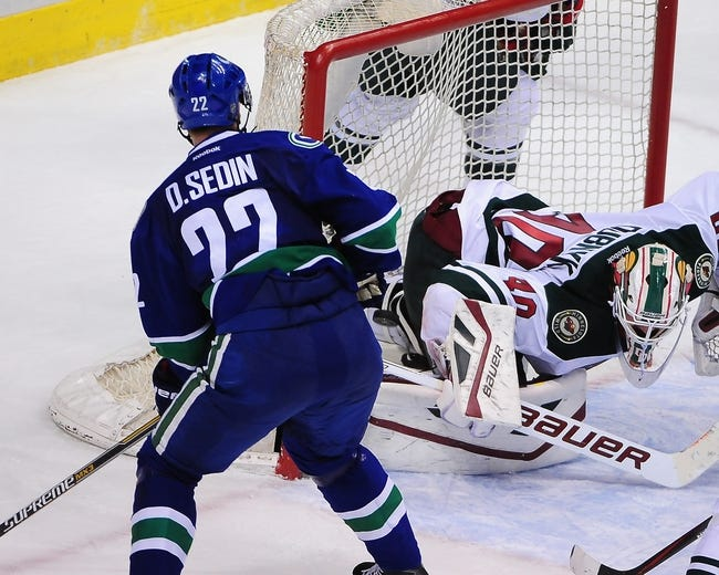 Minnesota Wild vs. Vancouver Canucks - 2/9/15 NHL Pick, Odds, and Prediction