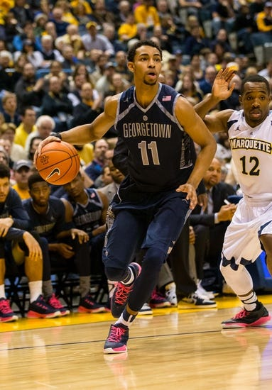 Georgetown Hoyas vs. Marquette Golden Eagles - 1/2/16 College Basketball Pick, Odds, and Prediction