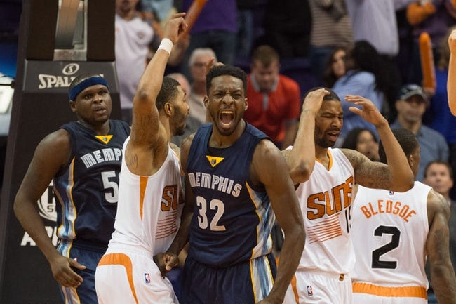 Memphis Grizzlies vs. Phoenix Suns - 12/6/15 NBA Pick, Odds, and Prediction