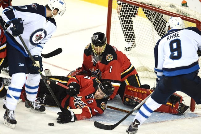 NHL | Calgary Flames (45-29-7) at Winnipeg Jets (42-26-13)