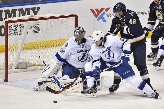 NHL | St. Louis Blues (35-15-4) at Tampa Bay Lightning (34-16-6)