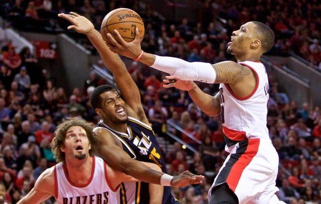 Utah Jazz vs. Portland Trail Blazers - 2/20/15 NBA Pick, Odds, and Prediction