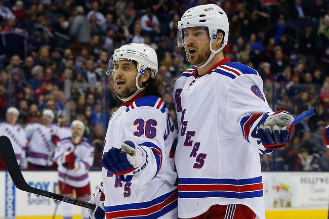 New York Rangers vs. Columbus Blue Jackets - 2/22/15 NHL Pick, Odds, and Prediction