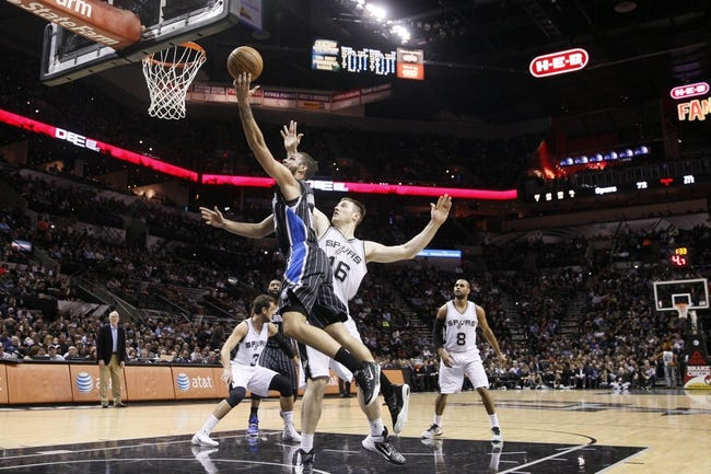 Magic vs. Spurs - 4/1/15 NBA Pick, Odds, and Prediction