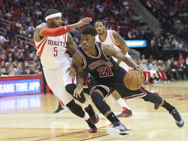 Houston Rockets at Chicago Bulls  - 3/5/16 NBA Pick, Odds, and Prediction