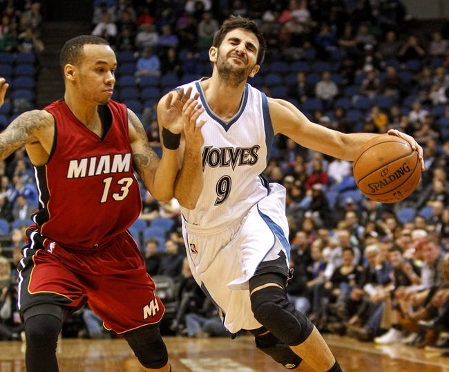 Minnesota Timberwolves vs. Miami Heat - 11/5/15 NBA Pick, Odds, and Prediction