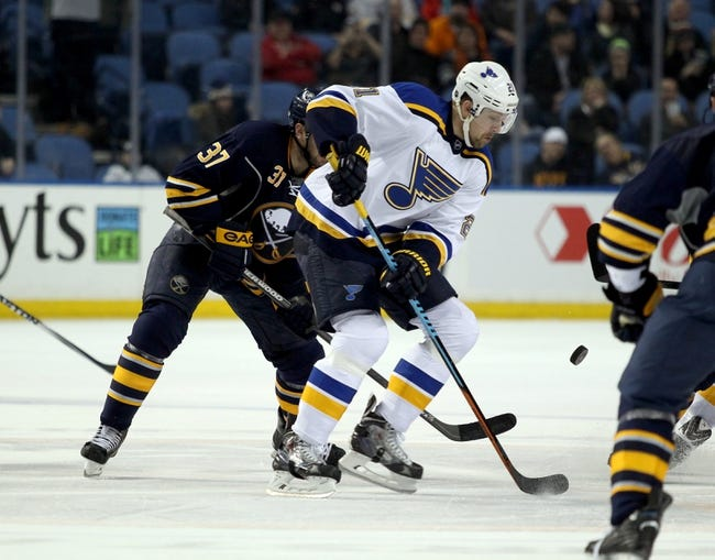 St. Louis Blues vs. Buffalo Sabres - 11/19/15 NHL Pick, Odds, and Prediction
