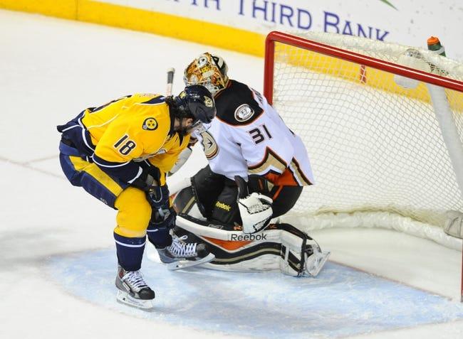 Anaheim Ducks vs. Nashville Predators - 3/15/15 NHL Pick, Odds, and Prediction