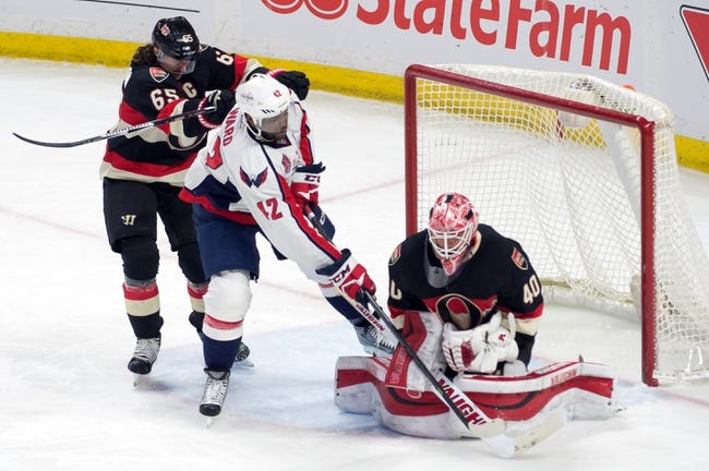 Senators vs. Capitals - 4/4/15 NHL Pick, Odds, and Prediction