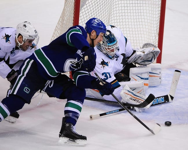 Canucks vs. Sharks - 3/3/15 NHL Pick, Odds, and Prediction