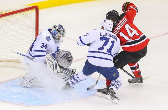 Toronto Maple Leafs vs. New Jersey Devils - 12/8/15 NHL Pick, Odds, and Prediction