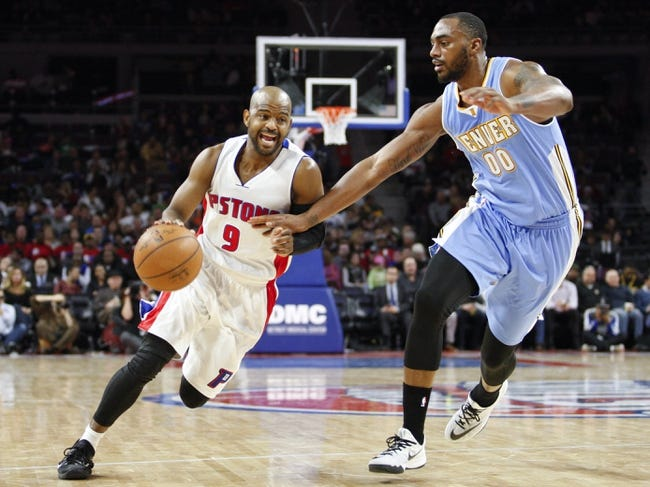 Pistons at Nuggets - 1/23/16 NBA Pick, Odds, and Prediction