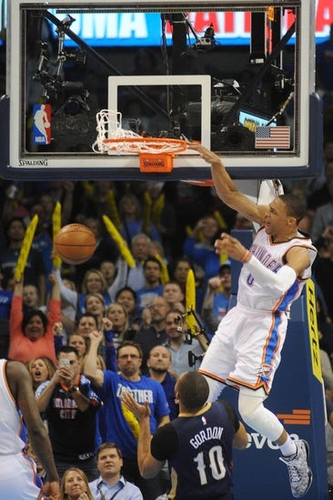 Oklahoma City Thunder vs. New Orleans Pelicans - 11/18/15 NBA Pick, Odds, and Prediction