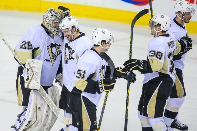 Calgary Flames vs. Pittsburgh Penguins - 11/7/15 NHL Pick, Odds, and Prediction