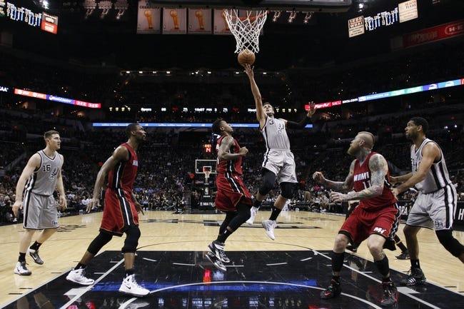 Miami Heat vs. San Antonio Spurs - 3/31/15 NBA Pick, Odds, and Prediction