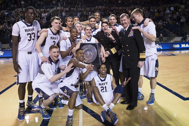 Patriot League Round One-Navy Midshipmen vs. Army Black Knights - 3/3/15 College Basketball Pick, Odds, and Prediction