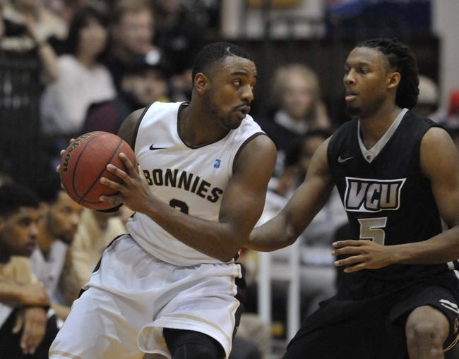 St. Bonaventure vs. Saint Joseph's - A-10 Tournament - 3/12/15 Pick, Odds, and Prediction