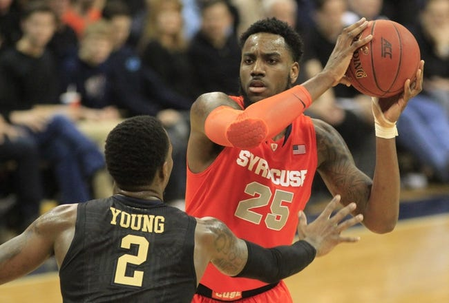Syracuse vs. Duke - 2/14/15 College Basketball Pick, Odds, and Prediction