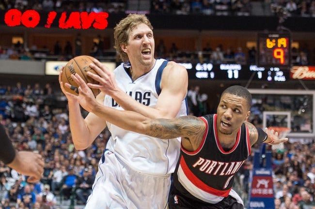 Mavericks at Trail Blazers - 12/1/15 NBA Pick, Odds, and Prediction