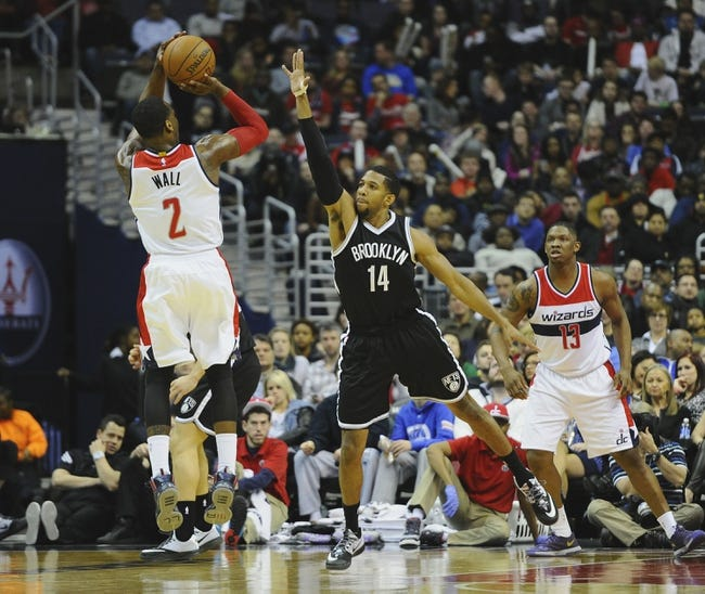 Nets vs. Wizards - 4/10/15 NBA Pick, Odds, and Prediction