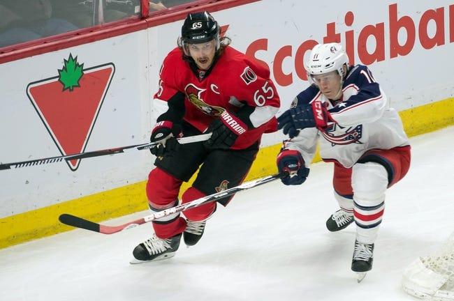 Senators at Blue Jackets - 10/14/15 NHL Pick, Odds, and Prediction