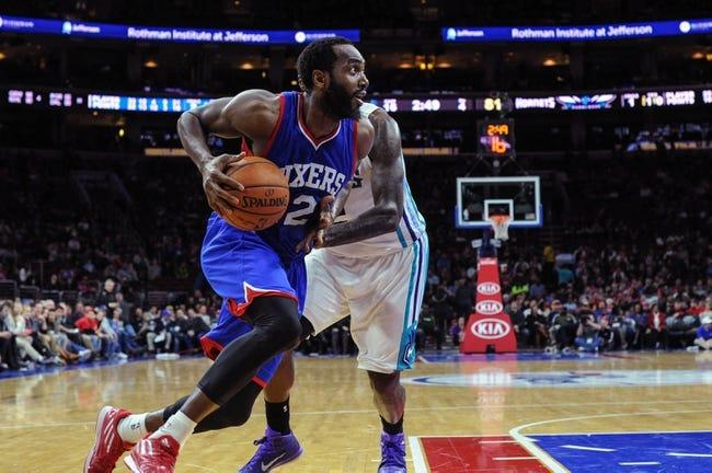 Charlotte Hornets vs. Philadelphia 76ers - 4/4/15 NBA Pick, Odds, and Prediction
