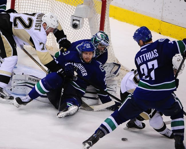 Vancouver Canucks vs. Pittsburgh Penguins - 11/4/15 NHL Pick, Odds, and Prediction