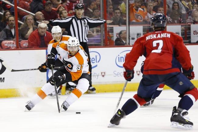 Philadelphia Flyers vs. Washington Capitals - 11/12/15 NHL Pick, Odds, and Prediction