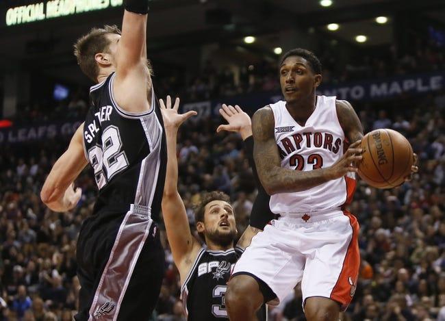 Raptors at Spurs - 3/10/15 NBA Pick, Odds, and Prediction