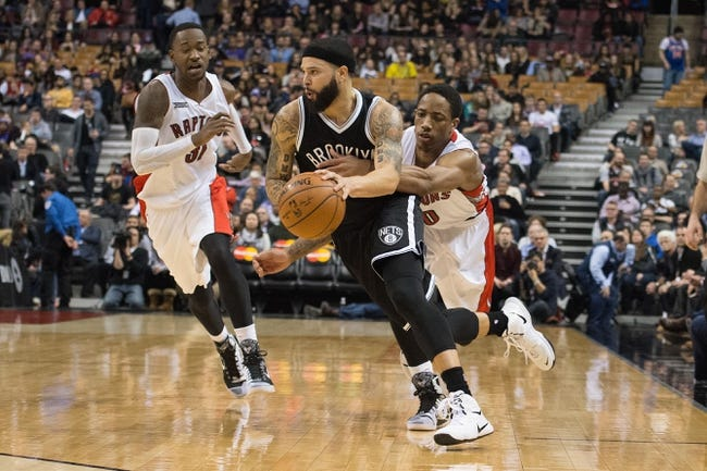 Brooklyn Nets vs. Toronto Raptors - 4/3/15 NBA Pick, Odds, and Prediction