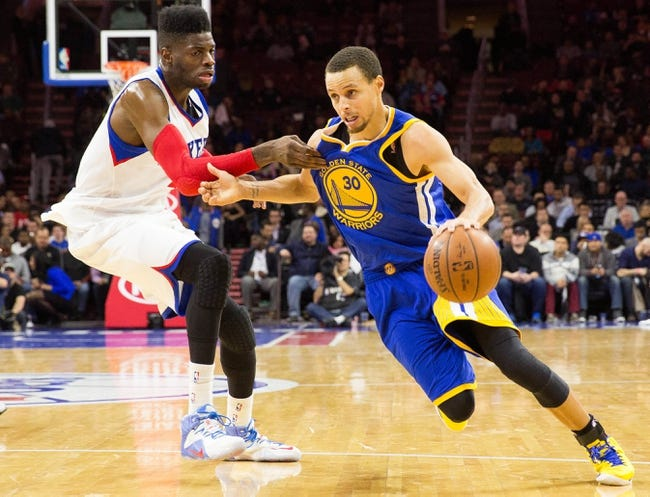 76ers vs. Warriors - 1/30/16 NBA Pick, Odds, and Prediction
