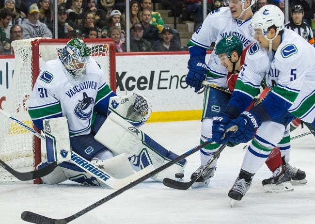 Vancouver Canucks vs. Minnesota Wild - 2/16/15 NHL Pick, Odds, and Prediction
