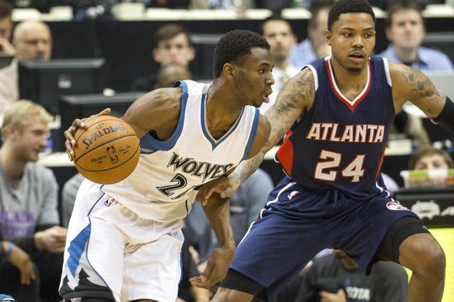 Atlanta Hawks vs. Minnesota Timberwolves - 11/9/15 NBA Pick, Odds, and Prediction