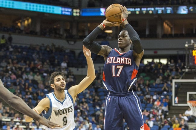 Minnesota Timberwolves at Atlanta Hawks  - 11/9/15 NBA Pick, Odds, and Prediction