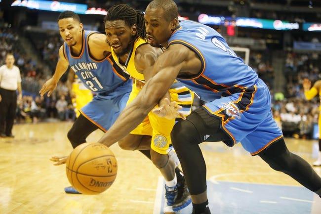 Thunder vs. Nuggets - 2/22/15 NBA Pick, Odds, and Prediction