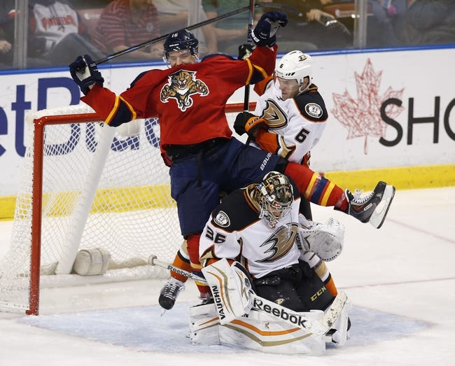Anaheim Ducks vs. Florida Panthers - 11/4/15 NHL Pick, Odds, and Prediction