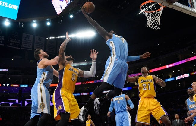 Nuggets vs. Lakers - 4/8/15 NBA Pick, Odds, and Prediction