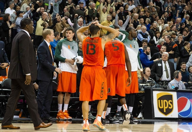Miami vs. Virginia Tech - 2/18/15 College Basketball Pick, Odds, and Prediction