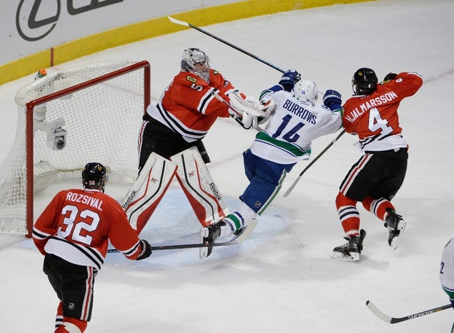 NHL | Vancouver Canucks (45-27-5) at Chicago Blackhawks (46-24-6)