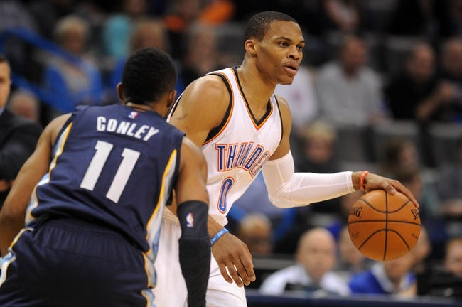 Grizzlies vs. Thunder - 4/3/15 NBA Pick, Odds, and Prediction