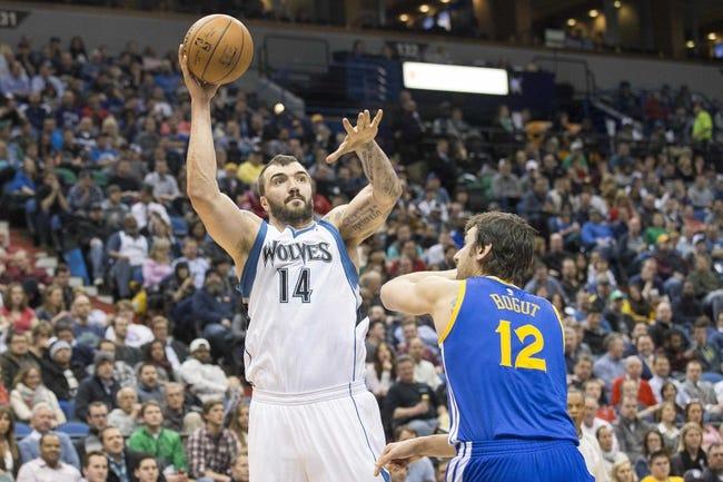 Timberwolves at Warriors - 4/11/15 NBA Pick, Odds, and Prediction