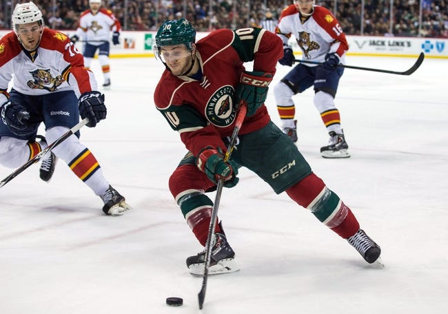 Florida Panthers vs. Minnesota Wild - 1/3/16 NHL Pick, Odds, and Prediction