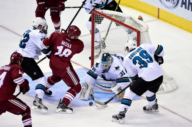 NHL | San Jose Sharks (38-30-9) at Arizona Coyotes (23-46-8)