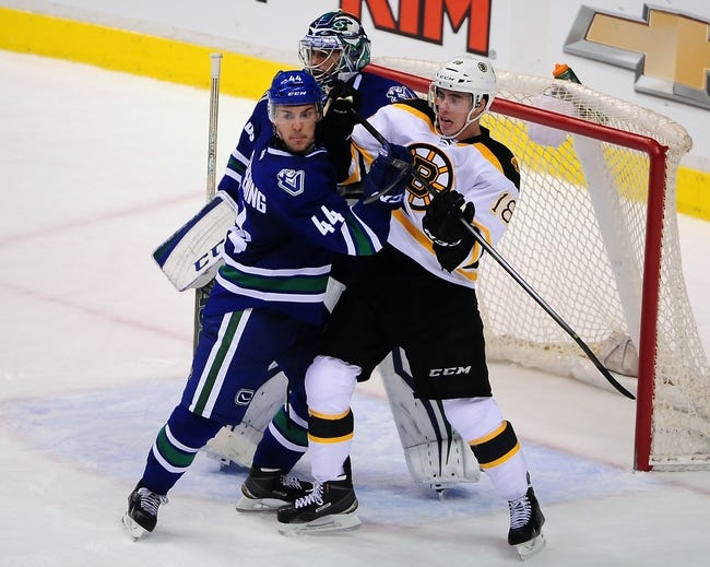 Bruins vs. Canucks - 2/24/15 NHL Pick, Odds, and Prediction
