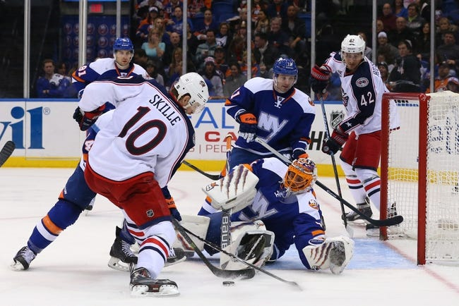 Blue Jackets vs. Islanders - 4/2/15 NHL Pick, Odds, and Prediction