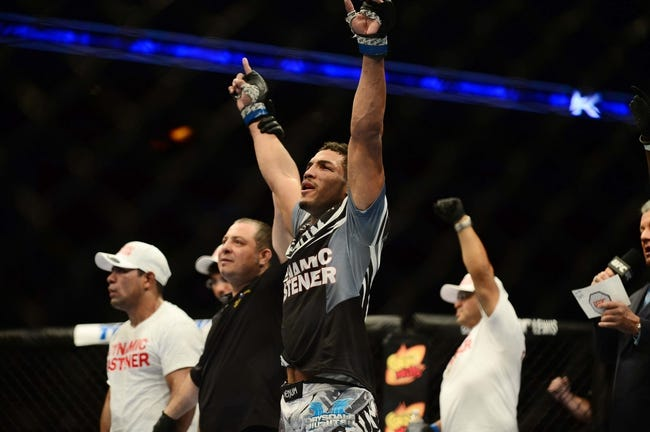 Michel Prazeres vs. J.C. Cottrell UFC on Fox 20 Pick, Preview, Odds, Prediction - 7/23/16