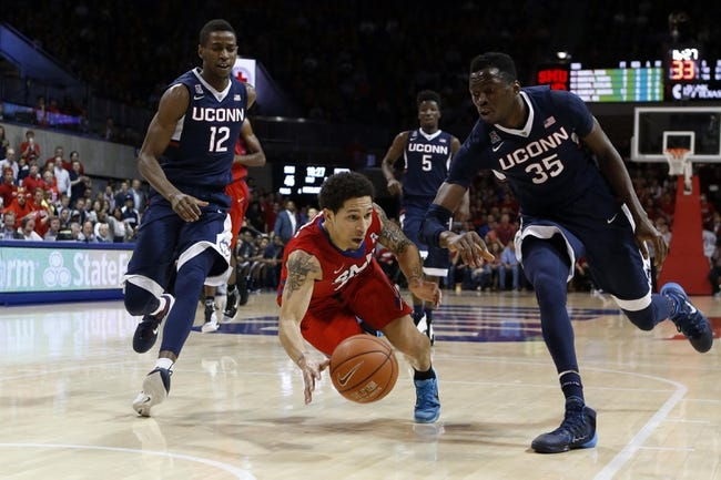 Connecticut vs. SMU - 3/1/15 College Basketball Pick, Odds, and Prediction